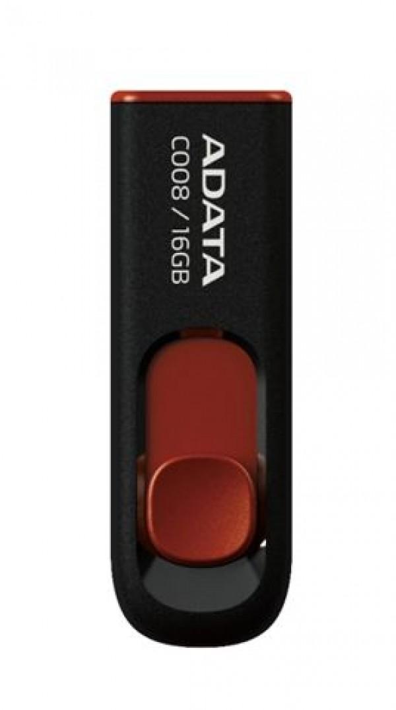 AData USB FD 16GB  AC008-16G-RKD crni