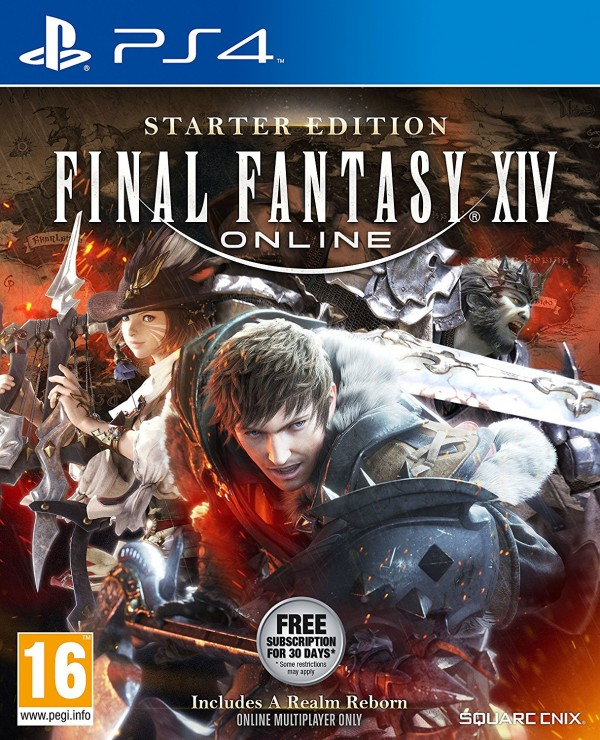 PS4 Final Fantasy XIV Online Starter Pack ( SFFSB4EN06 )