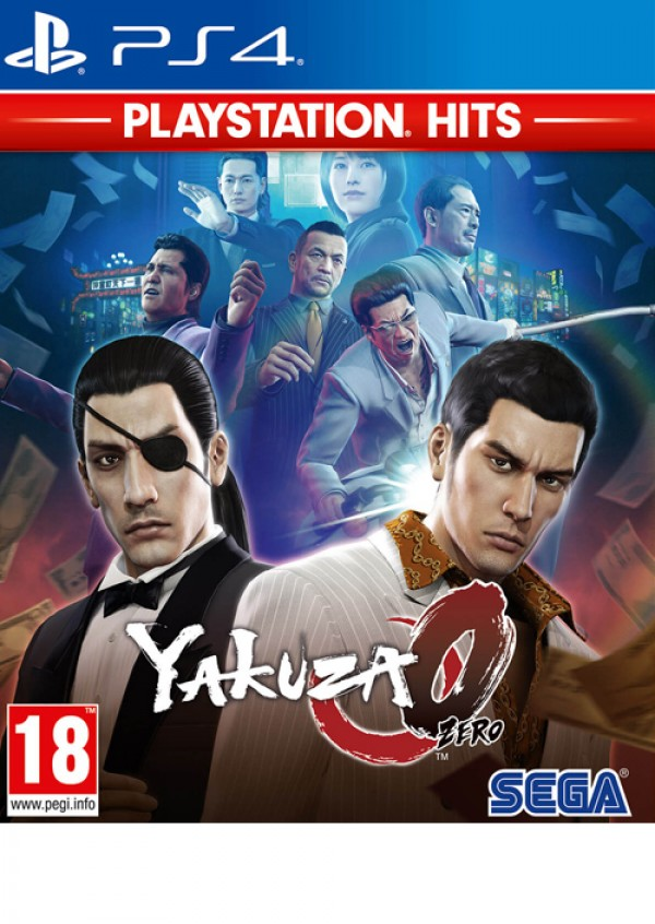 PS4 Yakuza Zero Playstation Hits (  )