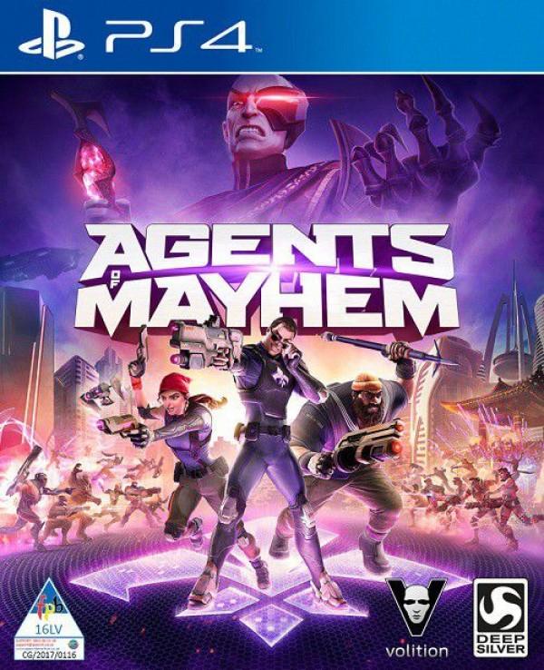 PS4 Agents of Mayhem (  )