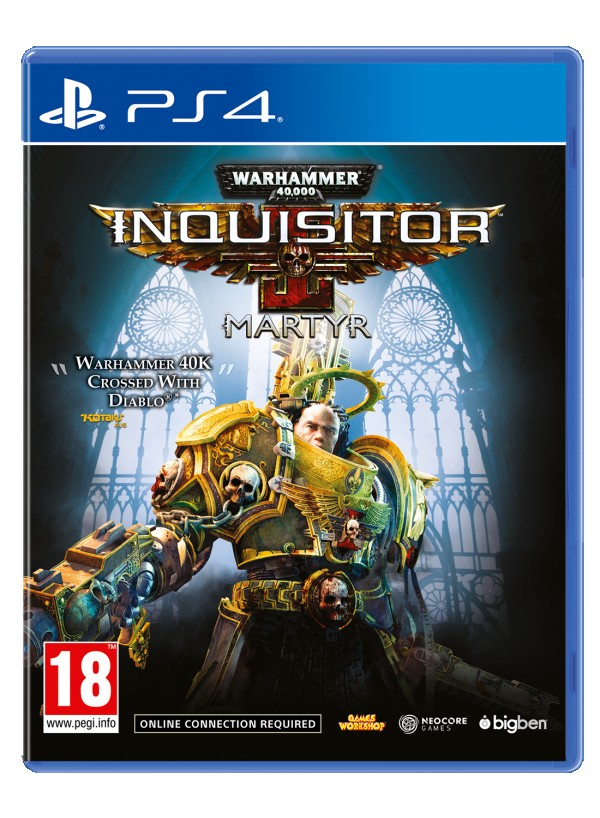 PS4 Warhammer 40,000: Inquisitor - Martyr  (  )