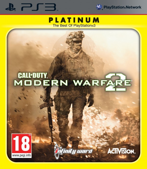 PS3 Call of Duty Modern Warfare 2 Platinum ( 84271UK )