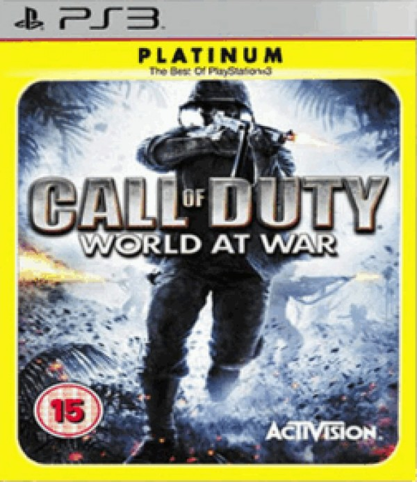 PS3 Call of Duty World at War Platinum ( 84058UK )