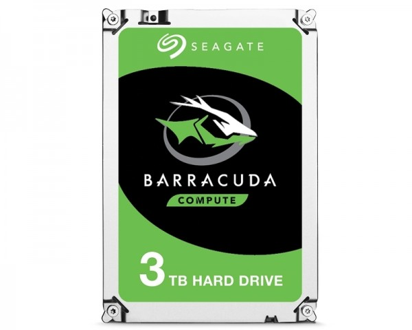 SEAGATE 3TB 3.5'' SATA III 256MB 5.400rpm ST3000DM007 Barracuda